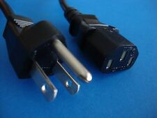 SONY PLAYSTATION 3 PS3 Heavy Duty New AC 3-Prong Power Cord Cable Line