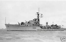 ROYAL NAVY WEAPON CLASS DESTROYER HMS SCORPION c 1955
