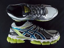 Mens Asics Gel Nimbus 15 shoes sneakers runners black new 14 Medium free ship