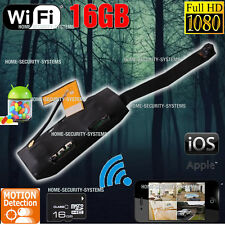 Home Security Camera 16GB WIFI IP Anti Theft Motion Activated 1080 No Spy Hidden