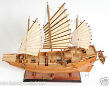 "27"" REPLICA Chinese Pirate Junk Wooden Ship Model FEATURED IN BRUCE LEE MOVIE"