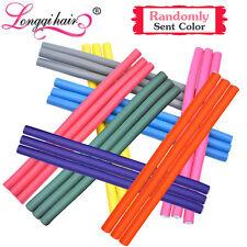 30 pcs Bendy Twist Curler Maker Soft Foam Hair Roller Flexi Rods Hair Stick LQ