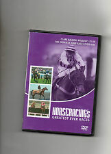 HORSE RACING DVD - 25 GREATEST EVER JUMP RACES WITH CLARE BALDING
