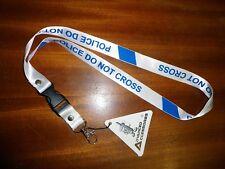 Nouvelle ligne de police courroie de cou cordon i d tag, pass, téléphone, mp4, ne pas traverser livraison gratuite