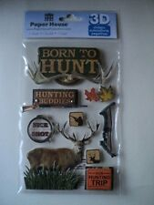 PAPER HOUSE 100% COUNTRY 3D STICKERS BNIP *NEW*