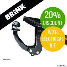 Towbar Brink fixed Renault Kangoo BE BOP (KW0/1_) 2009-2013 +7-pin e-kit