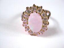 Ring Gold 333 mit Opal und Zirkonia