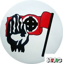 STICKERS AUTOCOLLANTS CROIX CELTIQUE - BRETAGNE - DRAPEAU - NATIONALISME - 10 CM