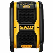 DeWalt PORTABLE BLUETOOTH SPEAKER 18V Rubber Overmold, Long Life And Durable