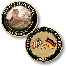 U.S. Army - Grafenwoehr, Germany Challenge Coin