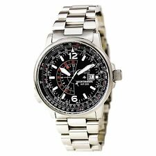 Citizen BJ7000-52E Nighthawk Flight Men's Black Dial Steel Watch