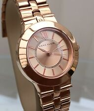 Anne Klein Designer WATCH WOMEN'S ROSE Gold-tone RRP £ 129 (P53)