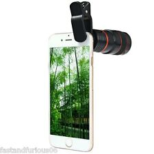 Universal 8x Zoom Telescope Lens Telephoto For Mobile cell Phones Tablet Camera