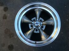15x7s or 8s GRAY NEW REV CLASSIC RALLY WHEELS FOR FORD mustang ranchero fairlane