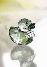 Swarovski Crystal Feliz Pato / Feliz Cumpleaños Pato 1079531 Menta en caja jubilado
