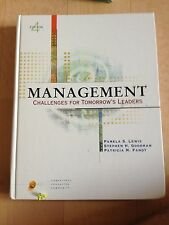 PAMELA S. LEWIS, MANAGEMENT CHALLENGES FOR TOMORROW'S LEADERS. EDITION 4