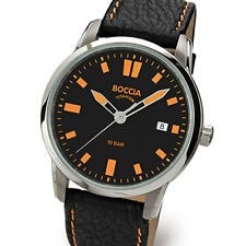 Boccia Quartz Sport Watch with Light Weight 41mm Titanium Case #3573-01