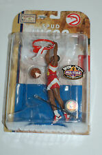Mcfarlane NBA Legends 4 Spud Webb Atlanta Hawks basketball figure statue