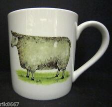 Extra Large Fine Bone China One Pint Pot Mug Sheep