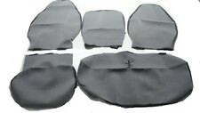 PLAIN GREY VINYL SEAT COVER, CUSTOM MADE SEAT COVER  HINO 300 SERIES 2003- 2013