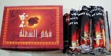 CHARCOAL DISC SHISHA HOOKAH COAL NARGILA INSTANT LIGHT TABLETS 10 Packs = 1 Box