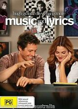 Music And Lyrics DVD BRAND NEW SEALED Hugh Grant Drew Barrymore R4