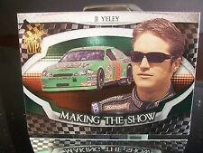 Insert JJ Yeley Press Pass VIP 2006 Card #MS 8/25 MAKING THE SHOW