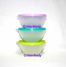 NEW Tupperware Classic Nesting Small Wonderlier Bowls set of 3