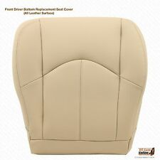 2003 To 2009 LEXUS GX470 Passenger Side Bottom Leather Seat Cover Color Tan