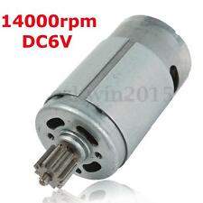 390 Gear Motor DC 6V 14000RPM High Speed Motor For Electric Vehicles Car Motors