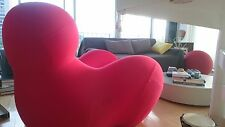 GENUINE Gaetano Pesce RED chair sofa UP5(&UP6 Ottoman) by BB Italia & Maxalto