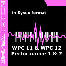 sysex sound for Korg Wavestation of the WPC-11 WPC-12 Performance 1 and 2