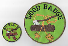 Scout Leader 3 Beads Woodbadge Insignia Patch & BP for Assistant Leader Trainer
