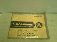1962 DAUPHINE SPARE PARTS CATALOG