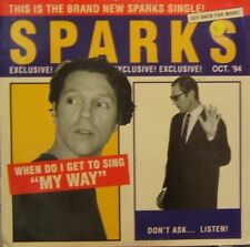 Sparks When Do I Get My Way US DJ 12""