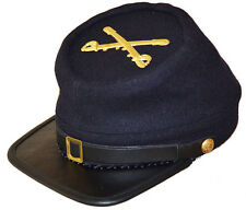 American Civil War Acw  Enlisted Union Cavalry Kepi With Badge Medium 56/57cms