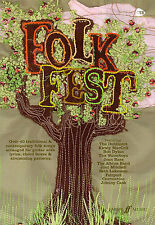 Folk Fest Guitar Song Lyrics & Chords Music Book Learn