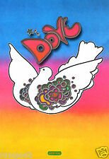 Vintage Poster/The Peace Dove/1968 Peter Max/Reproduction/Artist Rendition/13x19