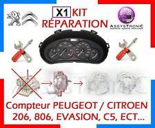 KIT REPARATION COMPTEUR PEUGEOT 206, 806, CITROEN C5