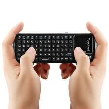 IPazzPort 19BTT Mini Handheld Wireless Bluetooth Keyboard Touchpad Scroll Bar