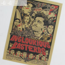 Inglourious Basterds Old Movie Poster Quentin Tarantino Decor Poster 71