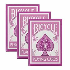Bicycle Pink Playing Cards - 3 Decks