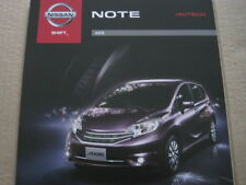 NISSAN NOTE E12 BROCHURE AXIS AUTECH (JAPANESE)