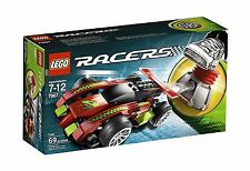 LEGO Racers - Fast Building Play Set 7967 NEW NIB Retired Sealed
