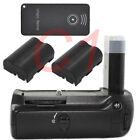 Pro Battery Grip Pack for Nikon D80 D90 DSLR + 2x EN-EL3e battery with IR Remote