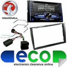 Vauxhall Antara Fascia Kit & JVC Double Din MP3 CD USB AUX Car Stereo