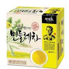 100% Natural Korean Organic Dandelion Tea 40 Tea bags Ssanggye New