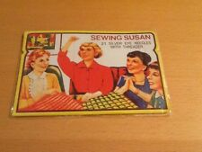Vintage style sewing susan kit/21 Silver Eye Needles & Threader/New With Tags