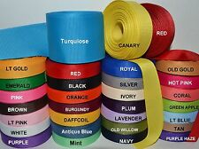 "Solid Grosgrain Ribbon 5 Yards Of One Color 7/8"" in.  (USE ADD TO CART)"