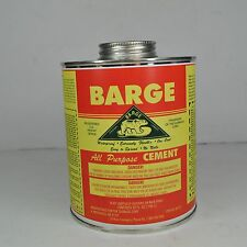 Barge All Purpose Cement Quart Rubber Leather Glue Shoe Repair Glue NEW